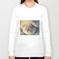 bunny Long Sleeve T-shirts featuring Bunny by Jessica Torres Photography