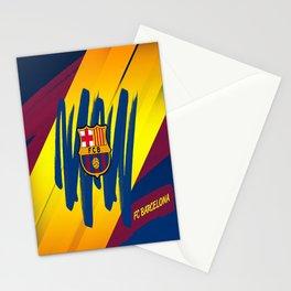 F C Barcelona : Mes Que Un Club , Visca forza Barca Stationery Cards