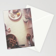 Continental Breakfast Stationery Cards
