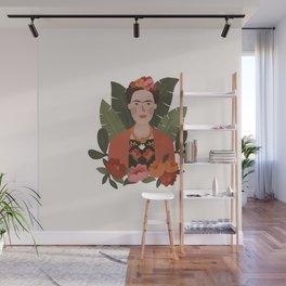 Frida Kahlo Portrait Wall Mural