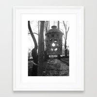 lantern Framed Art Prints featuring Lantern by velitas