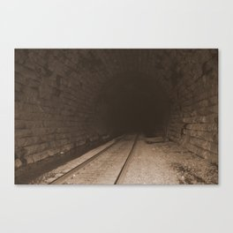 Railroad Tunnel Canvas Print