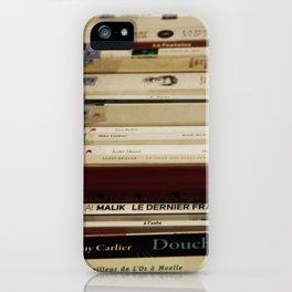 Des Livres iPhone Case