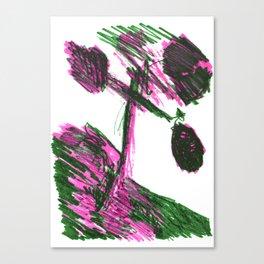TREE SHIRT Canvas Print