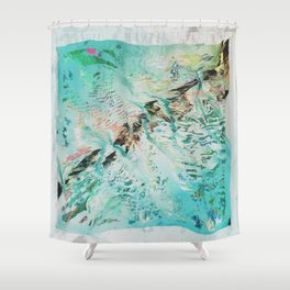 SPLLRGGR Shower Curtain