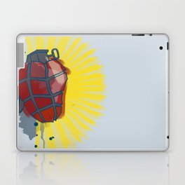 My Heart goes boom Laptop & iPad Skin