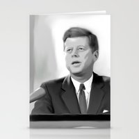 jfk Stationery Cards featuring JFK by Darkhorse