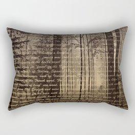 Beautiful Forest Rectangular Pillow