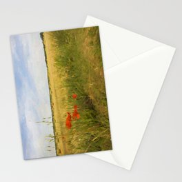 Paysage de Normandie Stationery Cards