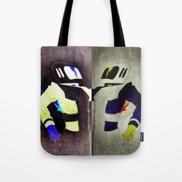 Space Man - Death of an Astronaut  Tote Bag
