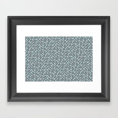 Control Your Game - Gray Cockatoo  Framed Art Print