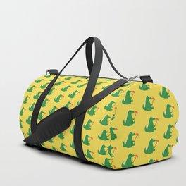 Dragon and Marshmallow Duffle Bag