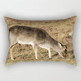 Fallow deer buck Rectangular Pillow