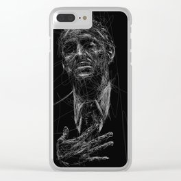 """""""I'll make him an offer he can't refuse.""""  ― Mario Puzo, The Godfather Clear iPhone Case"""