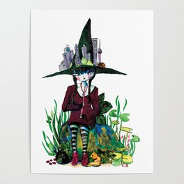Seoul witch Poster