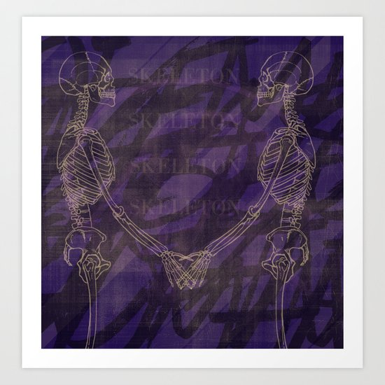 The Anatomy of Enchantment. Art Print