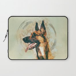 Belgian Malinois - Mechelaar  - Maligator Laptop Sleeve