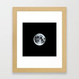 Full Moon Painting Framed Art Print
