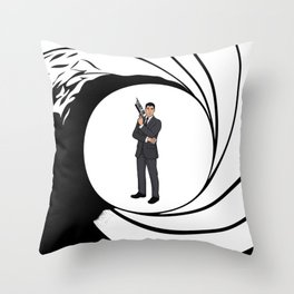 The Name is Archer. Throw Pillow