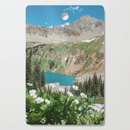 The Blue Lakes of Colorado Cutting Board