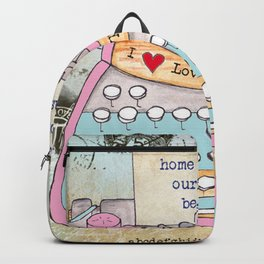 Typewriter #5 Backpack