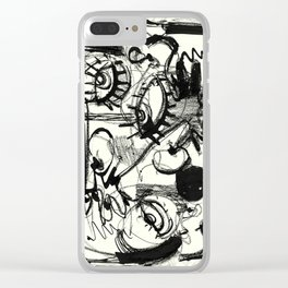 Chit-Chat Clear iPhone Case