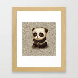 Cute Panda Framed Art Print