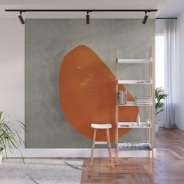 Minimalist Abstract Artwork created by an Artifical Intelligence Wall Mural