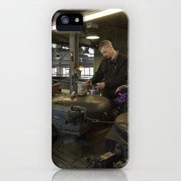 Station for stem locomotives iPhone Case