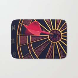 Dart Board Bath Mat