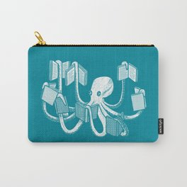 Armed With Knowledge Carry-All Pouch