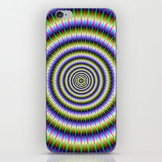 Optically Challenging Rings iPhone & iPod Skin