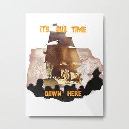 GOONIES Metal Print