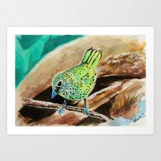 Little Birds  8/30 Art Print