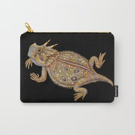 Horned Lizard Carry-All Pouch