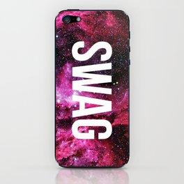 Swag space iPhone Skin