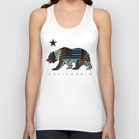 california Tank Tops featuring California by TAM ♡