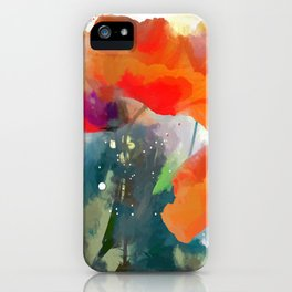 Poppies  2017 iPhone Case