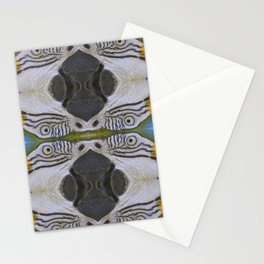 Parrot collage Stationery Cards