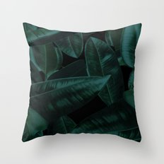 Dark Nature Throw Pillow