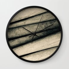 Vintage Baseball Bats Wall Clock