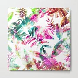 Tropical Leaf l Metal Print