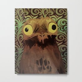 Potoo Metal Print