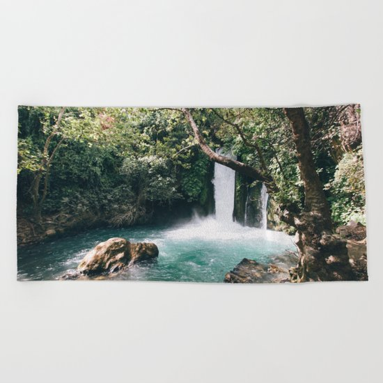 Chasing Waterfalls Beach Towel
