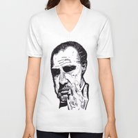 the godfather V-neck T-shirts featuring The Godfather by tyler Guill