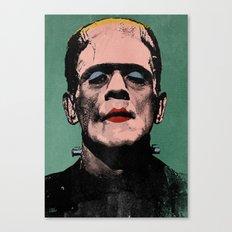 The Fabulous Frankenstein's Monster Canvas Print