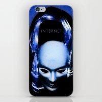 internet iPhone & iPod Skins featuring internet by Luca Finardi