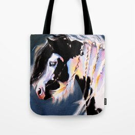 Gypsy Vanner Beauty Tote Bag