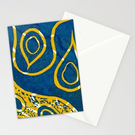 Linocut Print_1 Stationery Cards