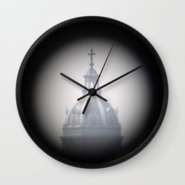 Tower Amsterdam I Vignette I Binoculars I Netherlands I Fine art I Photography Wall Clock